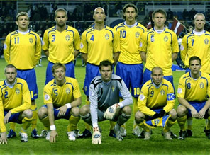 fotbollslandslaget herrar